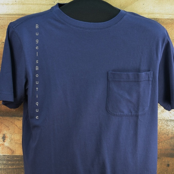 Outdoor Life Other - Outdoor Life Plain blue Pocket T-shirt Cotton Sz S